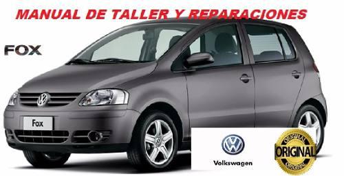 Manual De Taller Y Reparacion Volkswagen Fox