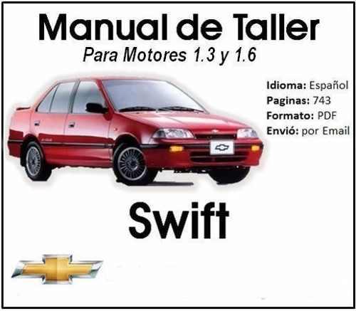 Manual De Taller Y Servicio De Chevrolet Swift