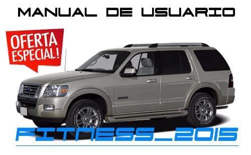 Manual De Usuario Ford Explorer Eddie Bauer En Español