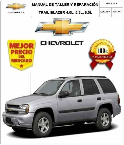 Manual Taller Y Reparación Motor Trail Blazer 4.0l 5.3l