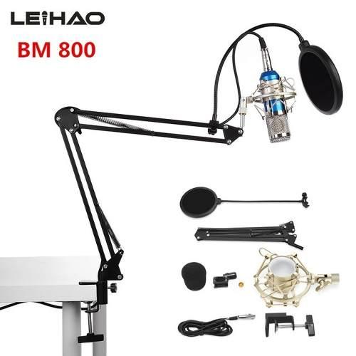 Micrófono Estudio De Grabación Bm-800