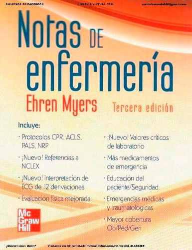 Notas De Enfermería 3ra Edic Myers