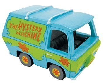Penn Plax Adorno Resina Scooby Doo Mystery Machine, 10 Cms