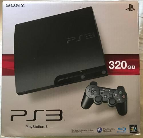 Play Station 3 De 320gb Ps3 Con Varios Juegos