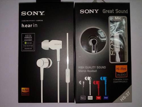 Audifonos Manos Libres Sony Samsung Iphone Huawei Zte Lg