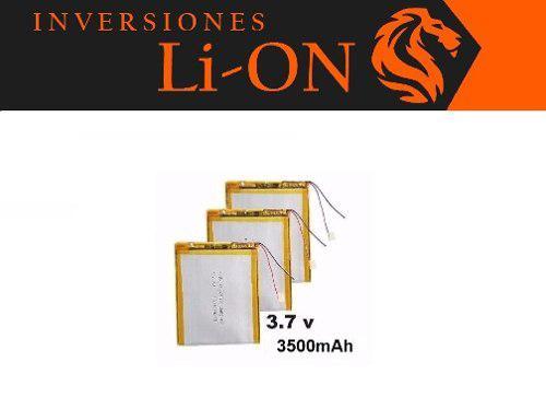 Bateria Pila Tablet China 7 Pulgadas Universal 3000mah 3.7v