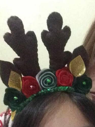 Cintillo De Navidad Motivó Reno