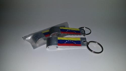 Llavero Destapador Aluminio Venezuela