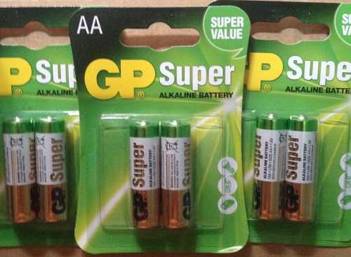 Pila Aa Super Alcalina Gp Blister 2unid  Mah