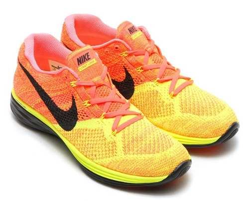 Zapatos Nike Hombre Flyknit Lunar 3 'hot Lava'