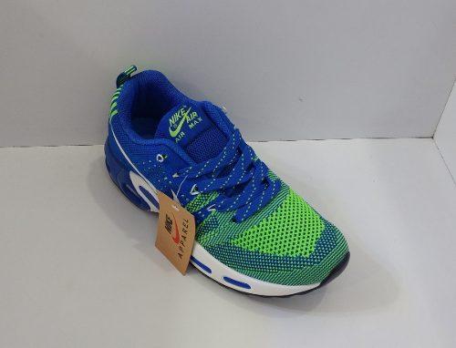 Zpt Nike Air Max Apparel. Tallas . Azul Con Verde