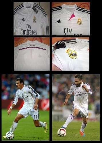 Camisa De Futbol Real Madrid (local) Manga Larga Talla M
