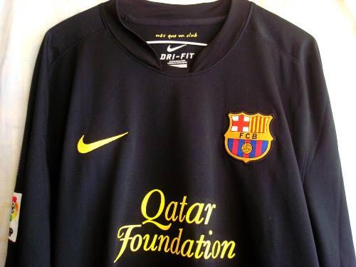 Camiseta Del Barcelona Fc Xl (manga Larga)