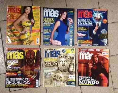 Combo De Revistas Conozca Mas