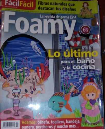 Combo Revista Manualidades Foamy Y Masa Flexible