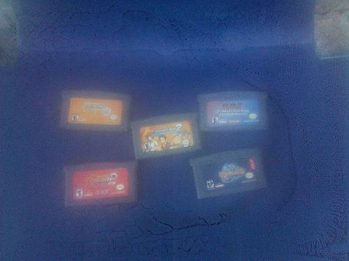 Game Boy Advance Con 5 Juegos