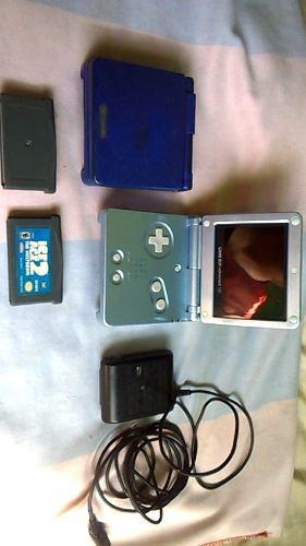 Game Boy Sp + 2 Juego + Cargador + Otro Game Boy De Respst..