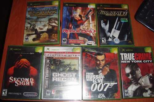 Juegos Xbox Clasico Originales (lea Descripcion)