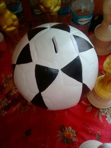 Pelota De Futbol En Ceramica
