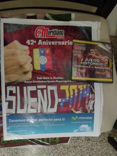Revista 42 Aniversario Meridiano + Guía Del Fútbol