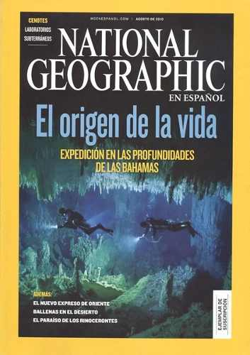 Revista National Geographic En Español Origen De La Vida