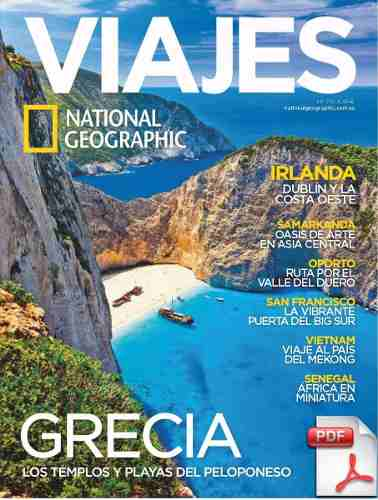 Revista Viajes National Geographic Mayo  Grecia