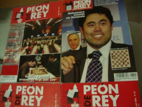 Revistas De Ajedrez Peon De Rey