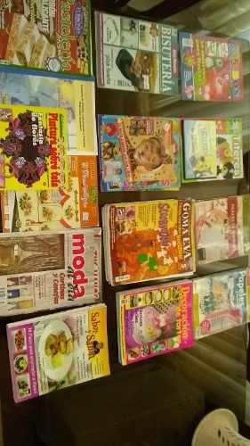 Revistas De Manualidades Cocina Foami Tortas Recetas Etc