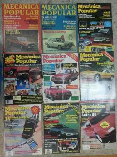 Revistas De Mecánica Popular Son 36 Tomos, Coleccionistas