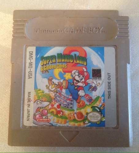 Super Mario Land 2 - 6 Golden Coins Para Gameboy