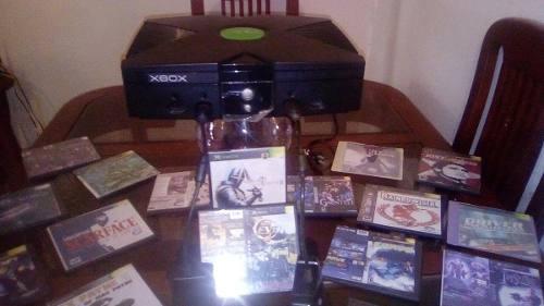Xbox Classic Como Nuevo.