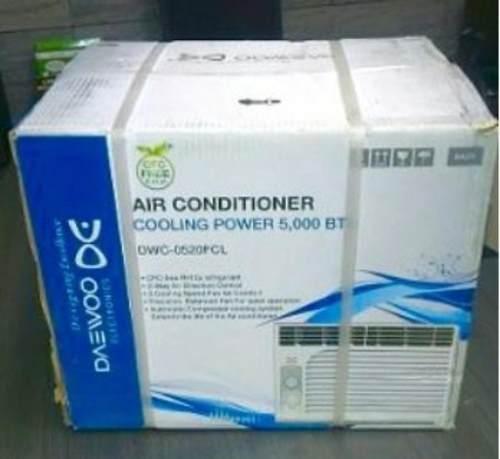 Aire Acondicionado Daewoo  Btu Ventana 110v Nuevo Leer