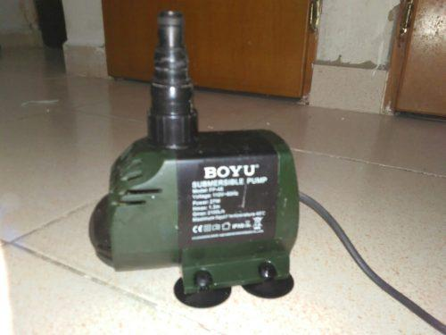 Bomba Motor Agua Sumergible Acuario Pecera Fuente