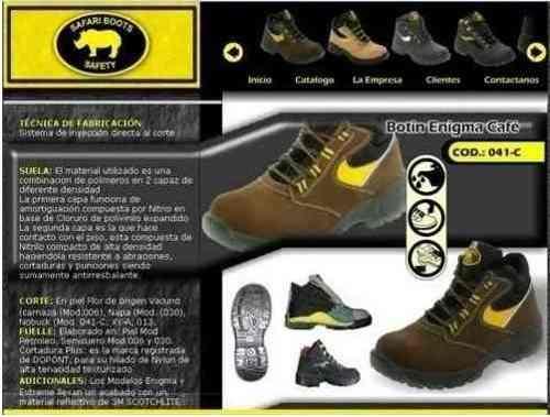 Botas De Seguridad Talla 36 Safari Boots