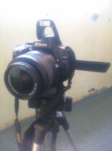 Camara Nikon Dslr D + Accesorios.