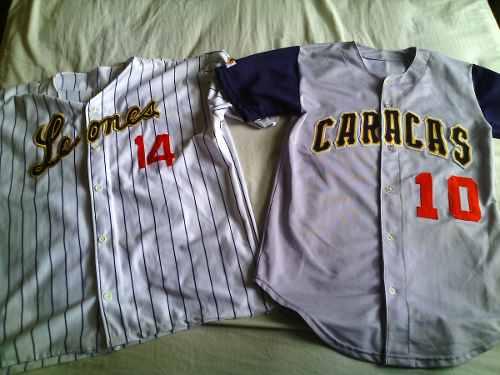 Camisas De Beisbol Leones Del Caracas