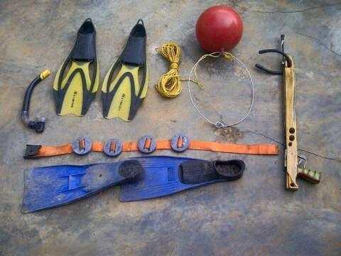 Equipo De Pesca Submarina.