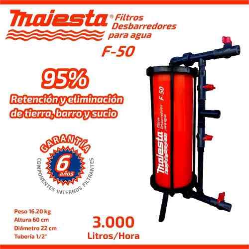 Filtro De Agua F-60 Industrial Para Llenado De Botellones