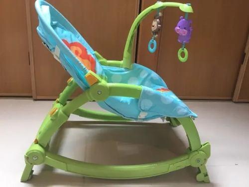 Hamaca De Bebe Que Se Transforma En Silla, Y Silla De Comer