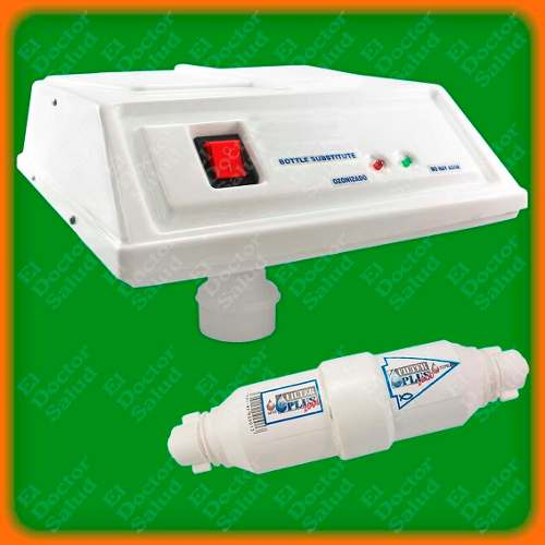 Planta Ozono Plus - Sustituto Botellon Bl + Filtro+ Obsequio