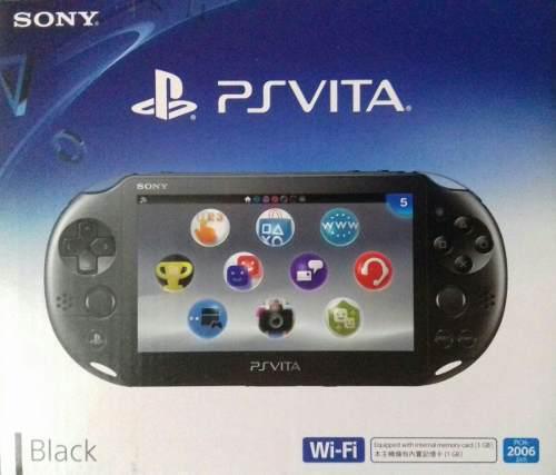 Psvita Sony Original + Juego + Memoria 16 Gb