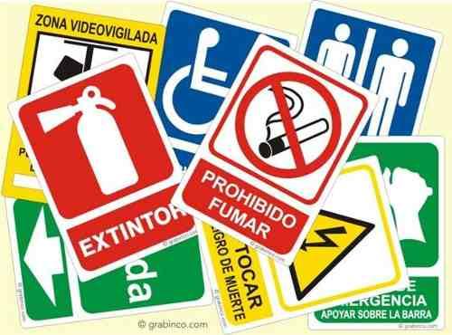 Señalizacion Y Avisos De Seguridad Industrial