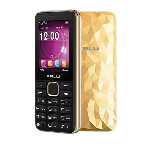 Telefono Celular Blu Tank 3 Dorado Dual Sim Bagc