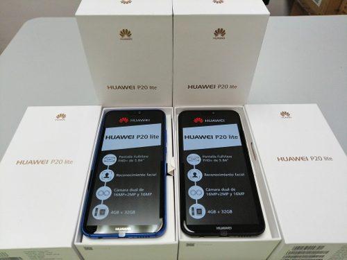 Telefono Celular Huawei P20 Lite 4gb+mp Android 8.1