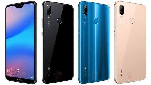 Telefono Huawei P20 Lite 4 Gb Ram 32 Gb Memoria Interna.