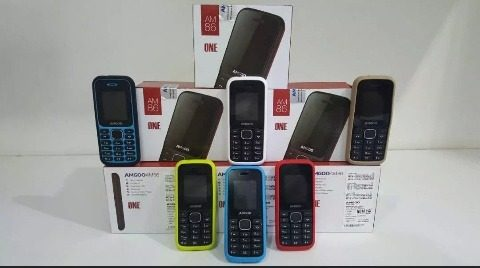 Telefono Liberado Amgoo Am 86 Dual Sim Liberado + Forro