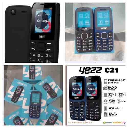 Telefono Yezz C21 Dual Sim Liberados + Popsocket Regalo