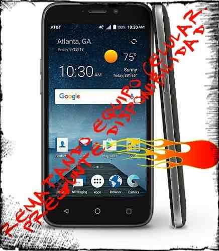 Telefono Zte Maven 3 4g Lte 8gb Android 7.1 1gb Ram 5mp
