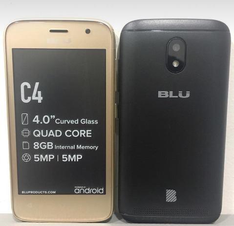 Teléfono Blu C4 Android  Ram 8gb Dual Sim 5mp Camara