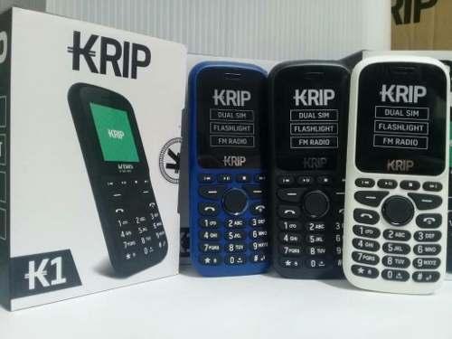 Teléfono Celular Económico Liberado Dual Sim Krip K1